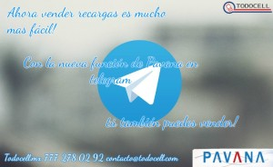 vende recargas por telegram