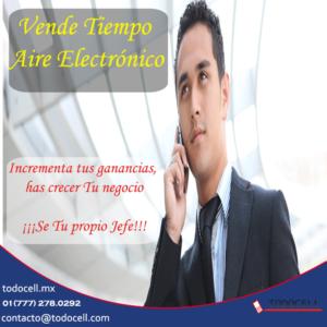 vende tiempo aire electrónico