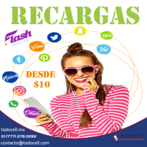 recargas flash mobile