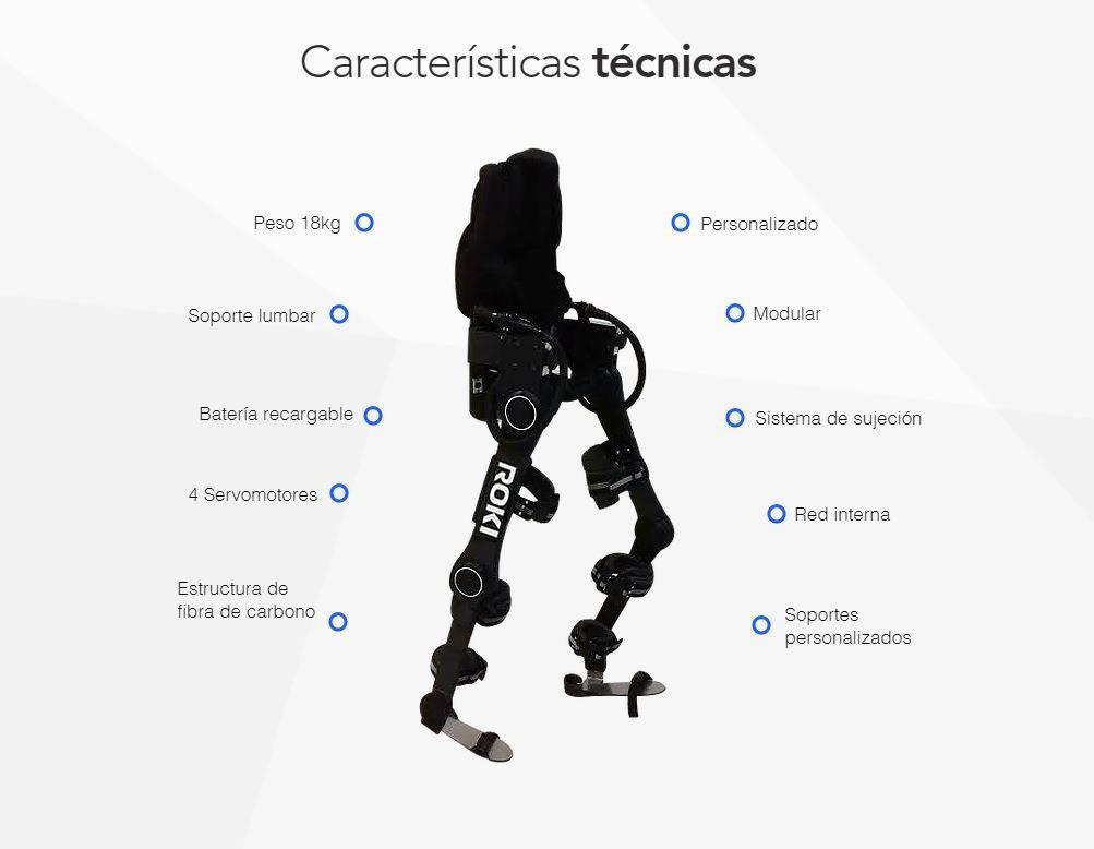Roki el exoesqueleto mexicano