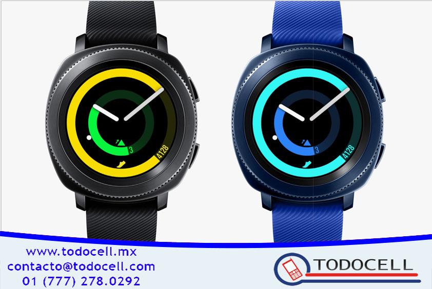 Gear Sport el nuevo reloj deportivo de SAMSUNG ¡Conocelo!