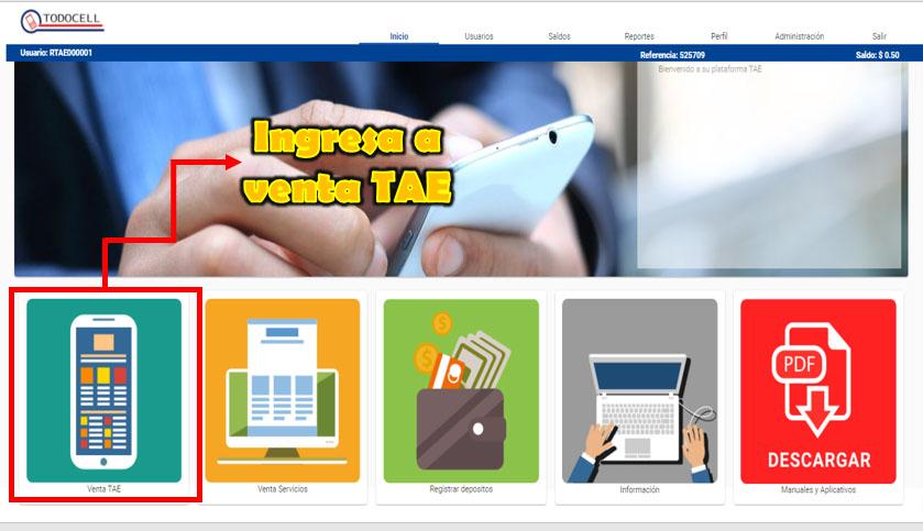 ¿Cómo vender recargas desde TODOCELL.NET? Aquí te decimos como