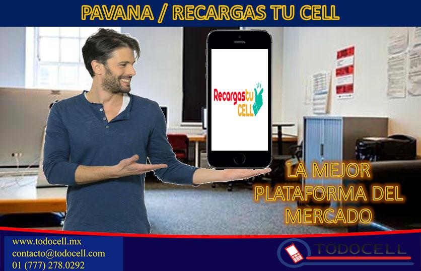 Nuestra mejor plataforma Pavana / Recargas tu cell