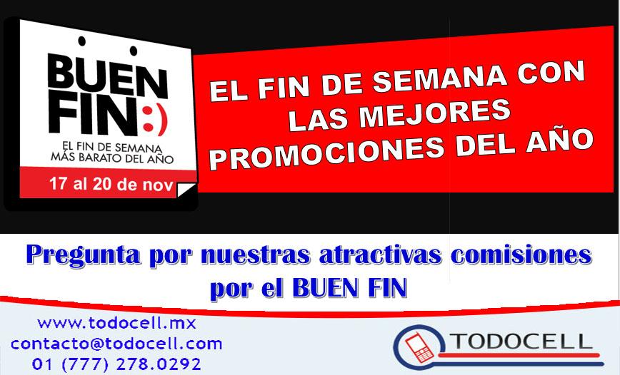 Celebra el BUEN FIN con TODOCELL