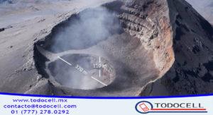¿Un segundo cráter en el volcán Popocatépetl?