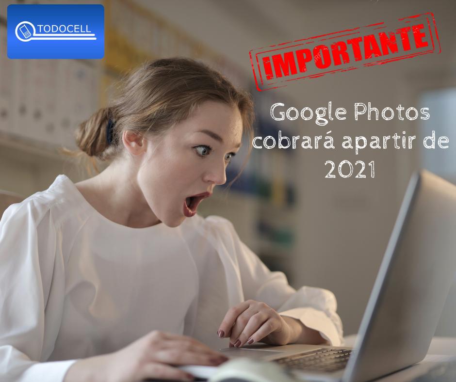 Google Photos cobrará a partir de 2021